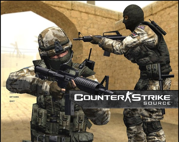 After some loading your counter strike dedicated server will be online and you will see a popup box as shown below
